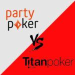 partypoker vs titanpoker